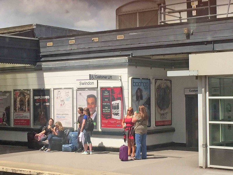 Swindon Town Railway Station, SW England