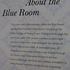 The Blue Room at Derwen Fawr House, Bible College of Wales, Swansea