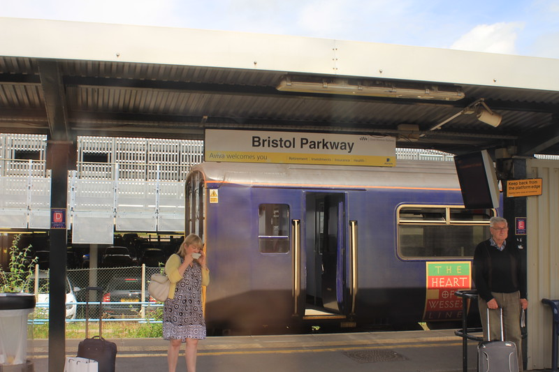 Bristol Parkway Railway Station, 112 miles from London's Paddington Station.