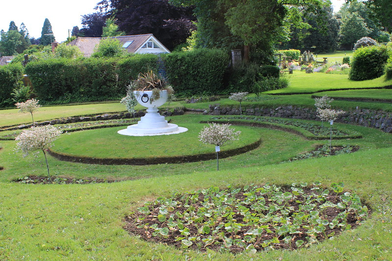 Italian Garden, Bible College of Wales, Swansea