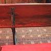 Pew in the Schoolroom, Moriah Chapel