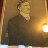 Evan Roberts; photo on display in the Schoolhouse at Moriah Chapel