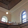 Balcony in the main church at Moriah Chapel