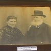Henry and Hannah Roberts were the parents of Evan Roberts; Photo is on display in the Schoolhouse at Moriah Chapel