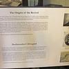 Exhibit in Schoolroom at Moriah Chapel