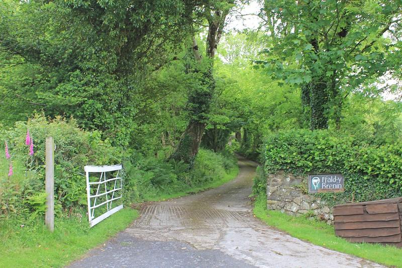 Entrance to Ffald-y-Brenin