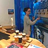 Beer tasting at Bluestone Brewing Company, Cilgwyn, North Pembrokeshire