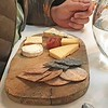 Platter of Cheese, Quince and Crackers