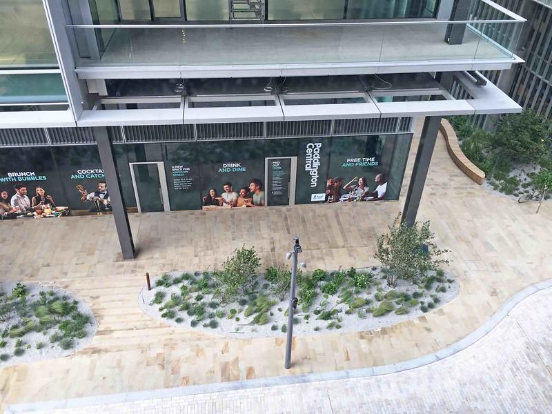 Street view from Novotel Hotel, Paddington