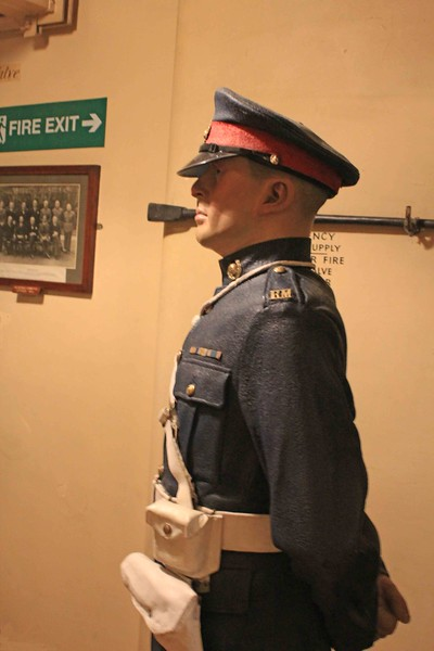 Royal Marine Guard, Churchill War Rooms