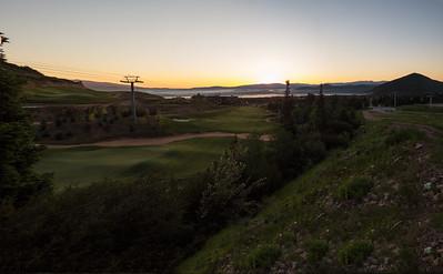Canyons Golf Sunrise