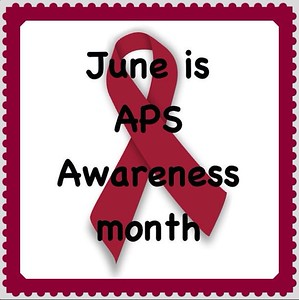 Thank you to @eyzrbrn @rilac @littleloveblue @petersenby2 @barbie48708 @callmedi626 @lifeinamitten for participating in spreading awareness for APS!! #apsawareness #goburgundy #aps #antiphospholipid #antiphospholipidantibody