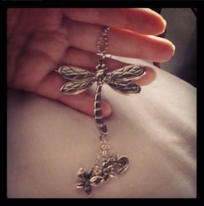 "#dragonfly for my car by @eyzrbrn "" How will you #goBurgundy for #APSAwareness month?"