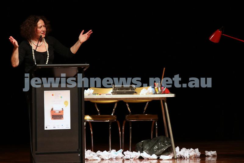 31-5-2014. Melbourne Jewish Writers Festival Gala. Glen Eira Town Hall. Photo: Lochlan Tangas