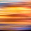 Ocean Sunset Abstract 3