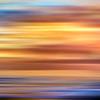 Ocean Sunset Abstract 2