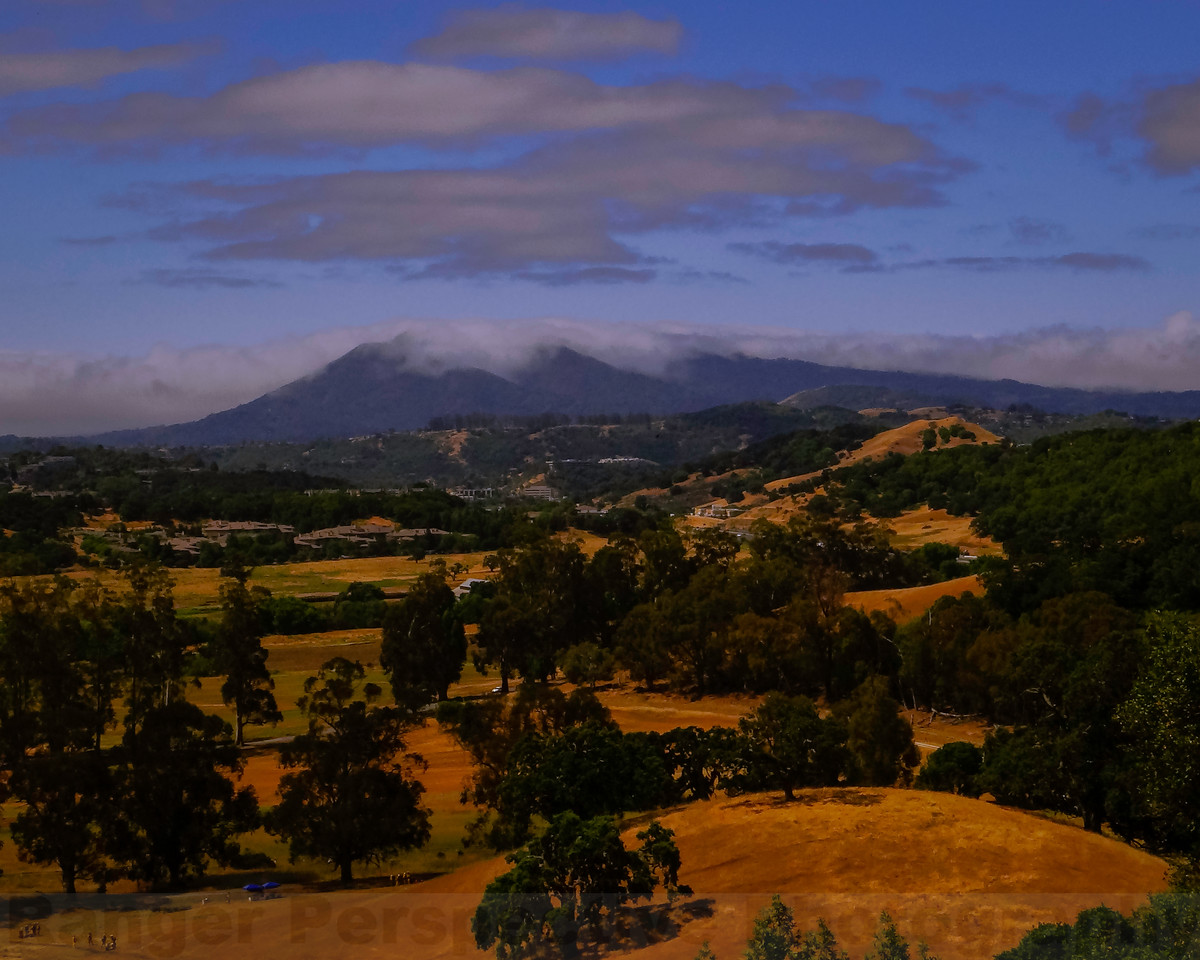 Mount Tam from Hills of Saint Vincents