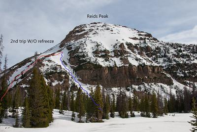 Rieds Peak ski tour 2.0