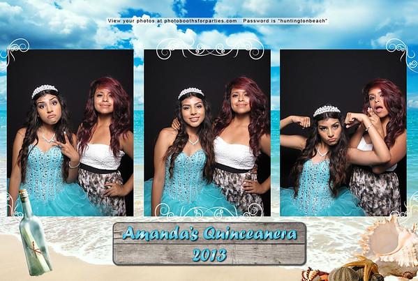 Amanda's Quinceañera