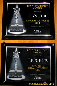 The readers of the St Albert Gazette chose LB's as their favourite venue.