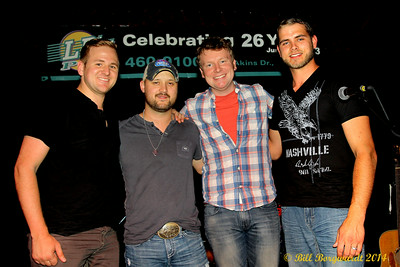 Carl Lindquist, Aaron Goodvin, Kasey Todd, Tyson Goodvin at LB's