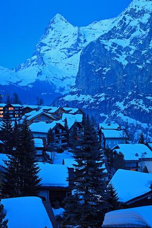 Mürren and Eiger Nordwand, Jungfrau Region