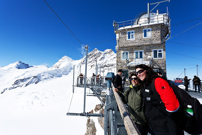Jungfrau Top of Europe, Sphinx viewpoint, Jungfrau Region
