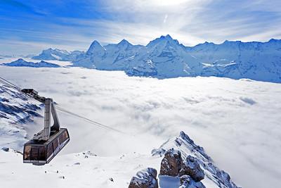 Schilthorn ski area, Jungfrau Region