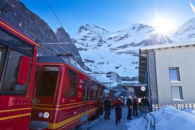 Jungfraubahn, Jungfrau Region