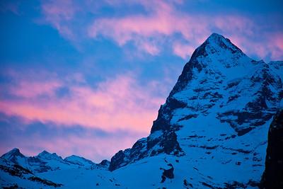Eiger Nordwand, Jungfrau Region