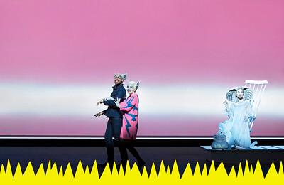 Ron Iyamu (Akela - Papa Wolf), Judith Bohle (Raskha - Mama Wolf), Rosa Enskat (Hathi the Elephant)