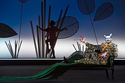 Cennet Rüya Voß (Mowgli), Sebastian Tessenow (Shere Khan the Tiger)