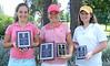 Andrea Frankiewicz, Runner Up<br /> Meghan Mueller, Winner and Low Putts Award<br /> Haelena Schwemmer, Longest Drive Award<br /> Girls 12-13
