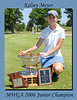 2006 MWGA Junior Champion, Kelsey Meyer
