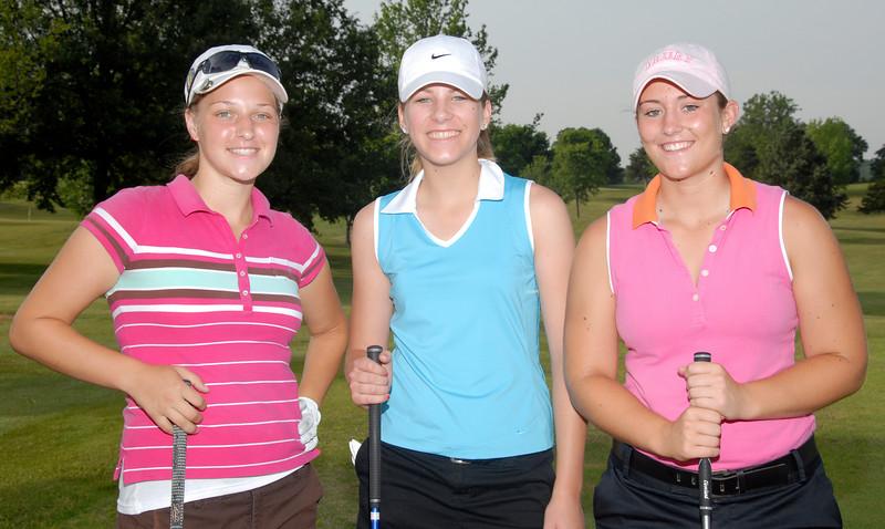 Rachel Halloran - Leawood, KS,<br /> Margaret Adams - Joplin,<br /> Katrina Choate - Fenton