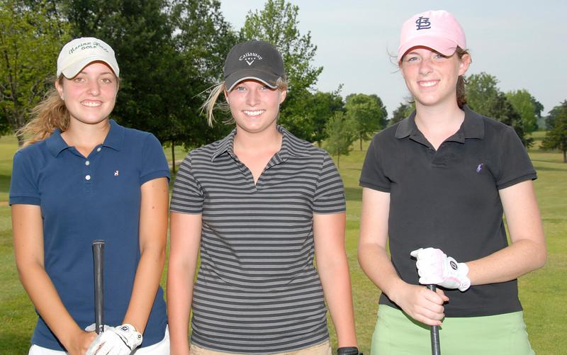 Kristen Hamel - Chesterfield,<br /> Hadley Jennings - Trenton,<br /> Meghan Frey - Clarkson Valley