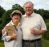 Junior Director, Nancy Sebastian and Rich Poe, PGA professional, are old friends.