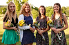 Four of our deserving 2012 Scholarship recipients: Peyton Tobin, Lindsey Eisenreich, Jessica Carter and Katie Martin.  Congratulations ladies and best wishes for a bright future ahead!