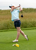 McCall Christopher won her state championship by fourteen strokes during her senior year at Lee's Summit North.