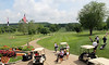 The rains were gone, and it was a beautiful day at Lake Valley Golf and Country Club.