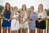 Scholarship Recipients:  Madison Frerking, Reagan Snavely, Kelsey Thompson, Michelle Stading and Amanda Baker (Alison Bonner and Mason Fender not pictured)