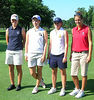 Rachel Halloran, 2007 MWGA Junior Champion and her foursome are ready for Round 1.