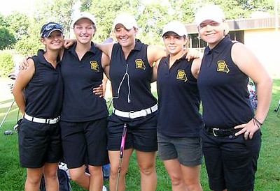 Congratulations 2007 Four State Champions!<br /> Alisha, Rachel, Katrina, Carolyn and Mary Kate