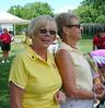 Coach Nancy Sebastian with MWGA Senior Director and volunteer Pat Plummer