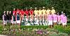 The Four State Junior Girls Championship Teams: Kansas, Nebraska, Missouri, Iowa.