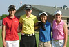 Brooke Cusumano with her group: Haley Thiele, Ellie Ament and Alissa Kim
