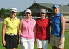 Mariah Peters with her group: Anna Cullinan, Abbie Hunke and Audrey Meisch