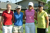 Madison Frerking with her group: Annie Pearson, Megan Furnish and Haley Flory.