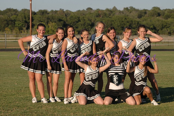 CPJH Cheerleaders at Home Vs Peterson Spikes Sept 21,2006
