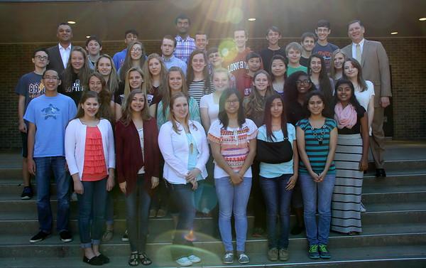 Superintendent Scholars (Spring 2015)